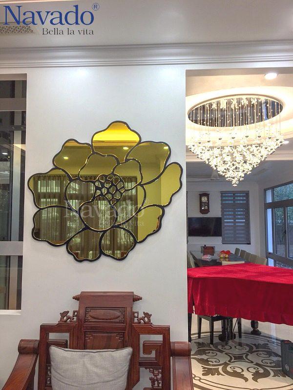 Gương treo phòng khách Dubai