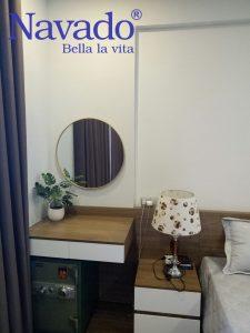 Vị trí đặt gương trang trí nghệ thuật phòng ngủ ấn tượng