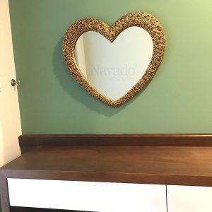 Gương treo phòng khách Muse