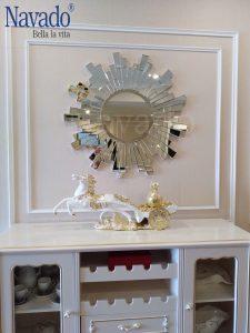 Gương nội thất trang trí sảnh