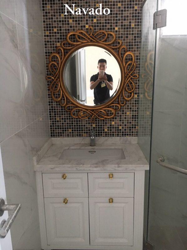 Gương trang trí phòng tắm Hermes